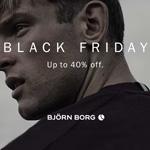 Black Friday bei Björn Borg! Spare bis zu 40% auf deine Lieblingsprodukte.