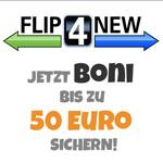 Boni bis zu 50 Euro – Black Friday Weeks mit FLIP4NEW