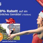 paintify Black Friday Deal: 50% RABATT auf ein persönliches Gemälde!