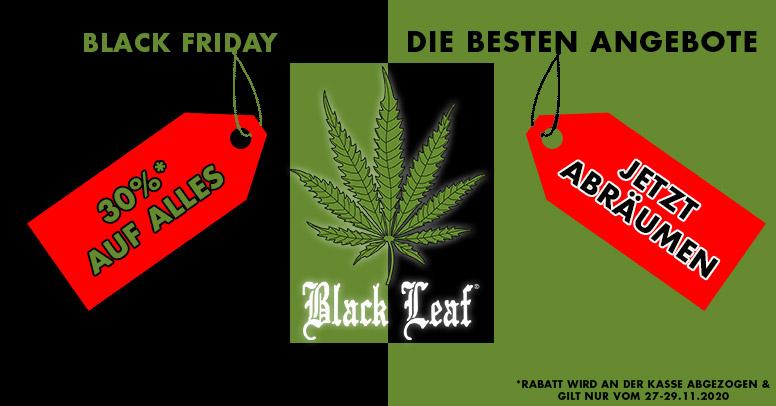 Black Leaf Black Friday 2020