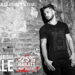 – 25% auf alles ab einem Einkaufswert von 39 Euro bei Black Money Crew!