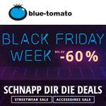 Sicher dir die Deals der Black Friday Week bei Blue Tomato mit bis zu 60% Rabatt