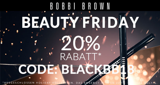 Bobbi Brown Black Friday 2018