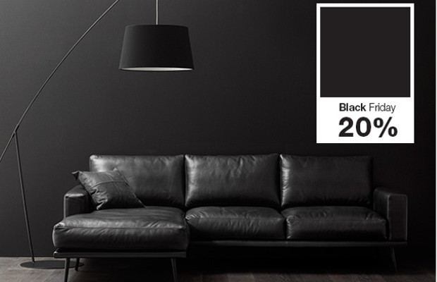 black friday bei boconcept 20 auf alle schwarzen m bel und accessoires black. Black Bedroom Furniture Sets. Home Design Ideas