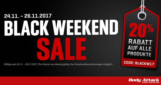 Body Attack Black Friday 2017