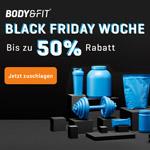 Black Friday Woche bei Body & Fit mit bis zu 50% Rabatt