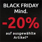 bonprix Black Friday – Mind. 20% Rabatt auf viele Artikel