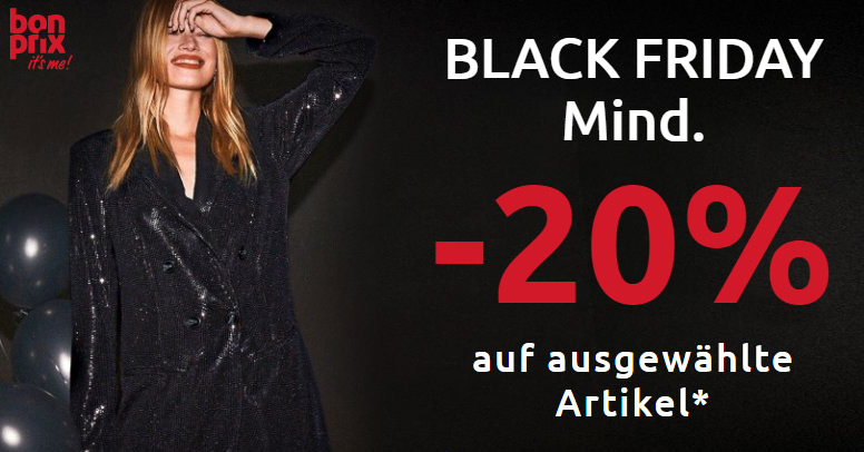 bonprix Black Friday 2020