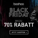 Sicher dir jetzt bis zu 70% Rabatt bei deinem Einkauf auf boohoo.com
