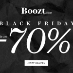 Black Friday bei Boozt.com! Nur heute tausende Artikel bis zu 70% reduziert!