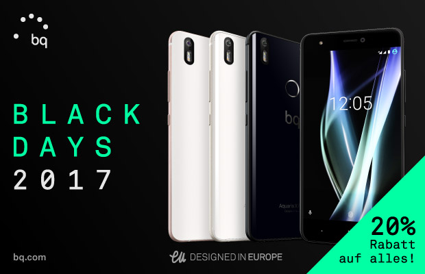 BQ Black Friday 2017