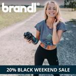 Black Weekend Sale bei Brandl Nutrition. 20% Rabatt auf alle Produkte!
