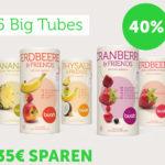 Spare jetzt 35 Euro beim Kauf von 100% natürlichen Fruchtmischungen von buah!