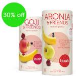 Nutze die Kraft der Aronia Beere und spare beim Kauf der Superfrüchte noch 30% bei Buah