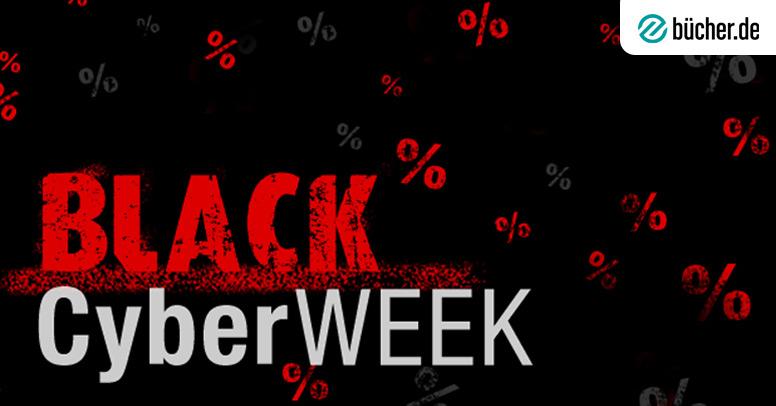 Black Cyber Week Auf Buecherde Jetzt Shoppen Und Bis Zu
