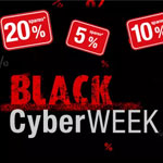 Hole dir jetzt bis zu 20% Extra-Rabatt in der Black Cyber Week auf buecher.de