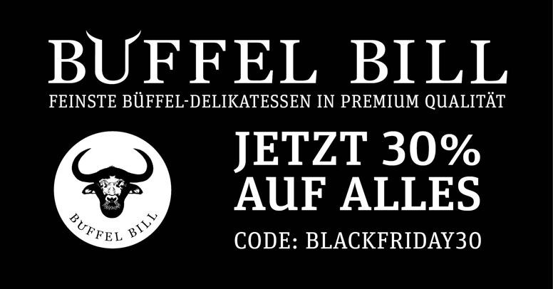 Büffel Bill Black Friday 2020