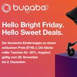 Jetzt sparen mit den Sweet Deals von Bugaboo