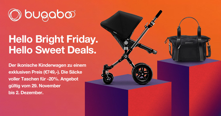Bugaboo Black Friday 2019