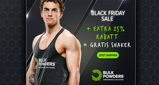 Bulk Powders Black Friday 2017