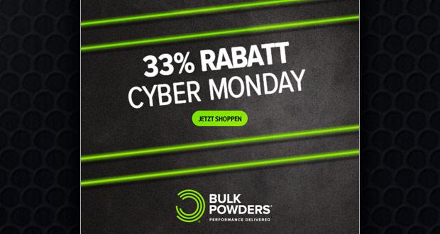 Bulk Powders Cyber Monday 2017