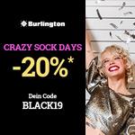 Sicher dir jetzt 20% Rabatt mit den Crazy Sock Days bei Burlington