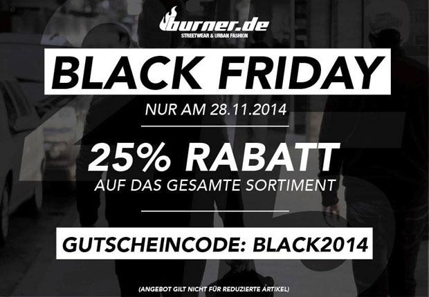 Burner Black Friday 2014