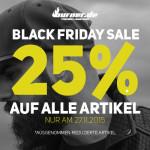 Nur heute: Spare 25% auf das gesamte Sortiment im Online-Shop von Burner!