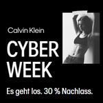 Calvin Klein Cyber Week – 30% Rabatt auf ausgewählte Styles