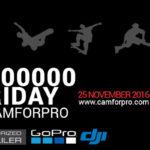 camforpro.com bietet erneut bis zu 70% Rabatt auf verschiedene Produkte zum Thema GoPro & Co.