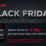 Der CANCOM Black Friday Deal: Spare jetzt bis zu 150€ bei Kauf eines Macs mit CANCOM Care!