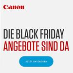 Canon: Die Black Friday Angebote sind da. Jetzt zugreifen und ordentlich sparen