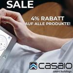 Black Friday Week bei CASAIO mit 4% Rabatt auf alle Produkte