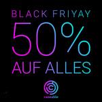 BLACK WEEK Mega Rabatt bei caseable – Alles zum halben Preis!