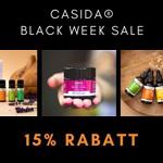Exklusive 15% Black Week Rabatt auf das gesamte Casida-Sortiment