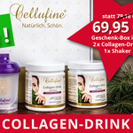 Black Day Beauty Bundle: 2x Cellufine® Collagen-Drink + 1 Cellufine® Shaker zum Special Price