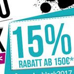 Black Weekend-Sale bei Certeo – Erhalte 15% Rabatt auf alle Lieblingsprodukte für dein Büro.