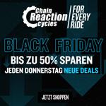 Für jede Fahrt das passende Angebot. Spare jetzt bis zu 50% im Store von Chain Reaction Cycles!