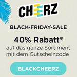 Black Friday Sale bei Cheerz, sicher die 40% Rabatt auf das ganze Sortiment an Fotoprodukten!