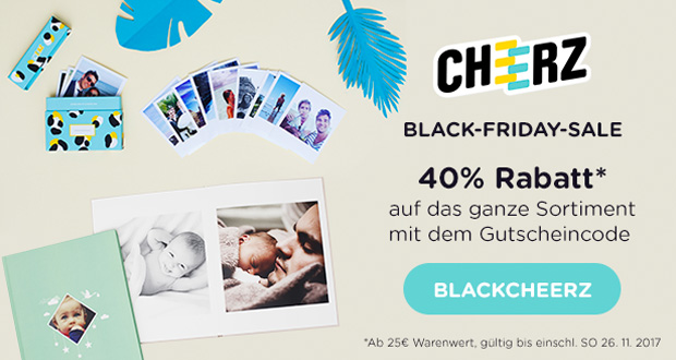 cheerz Black Friday 2017