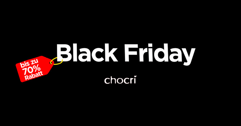 chocri Black Friday 2020