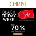 Black Friday Week bei Christ mit bis zu 70% Rabatt auf Top-Marken!