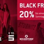 Noch bis Sonntag: 20% Rabatt auf aktuelle Herbst/Winter Kollektionen im Cinquestore!