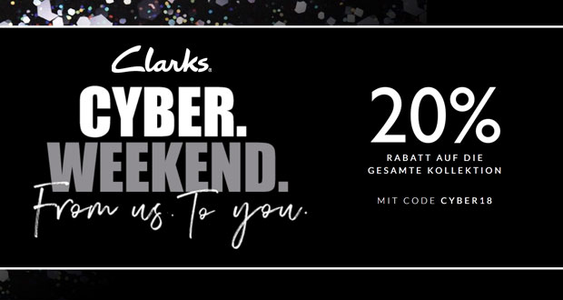 Clarks Black Friday 2018