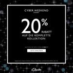 Das Cyber Weekend Event bei Clarks – 20% Rabatt* auf die gesamte Kollektion!