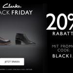 20% Rabatt auf Damen und Herren Schuhe im Online-Shop von Clarks!