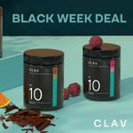 CLAV Black Week Deal: Spare 15% auf das komplette Sortiment an Nahrungsergänzungsmitteln