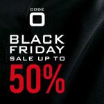 Black Friday bei Code Zero – 50% Rabatt auf ausgewählte Artikel und kostenloser Versand