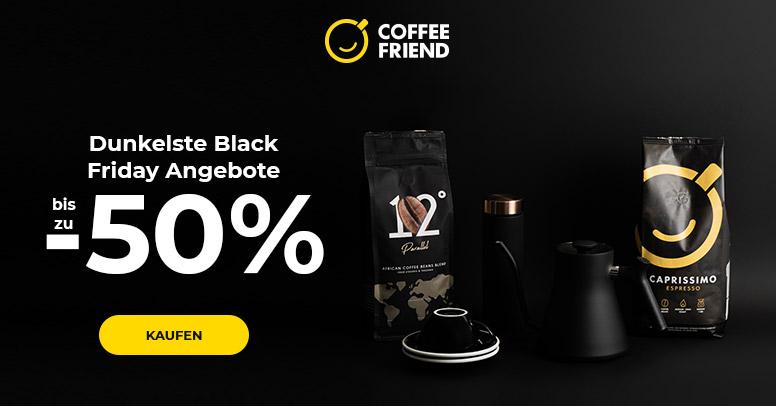 Coffee Friend Black Friday 2020