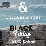 50% Rabatt auf Männerstyles bei Colours & Sons